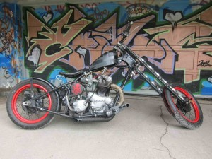Photo of 1974 850cc Norton Commando Hardtail Custom Chopper