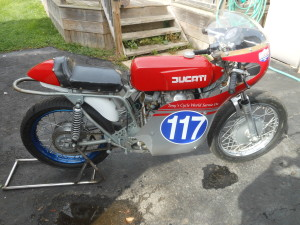 Photo of 1967 Ducati 350 scd replica