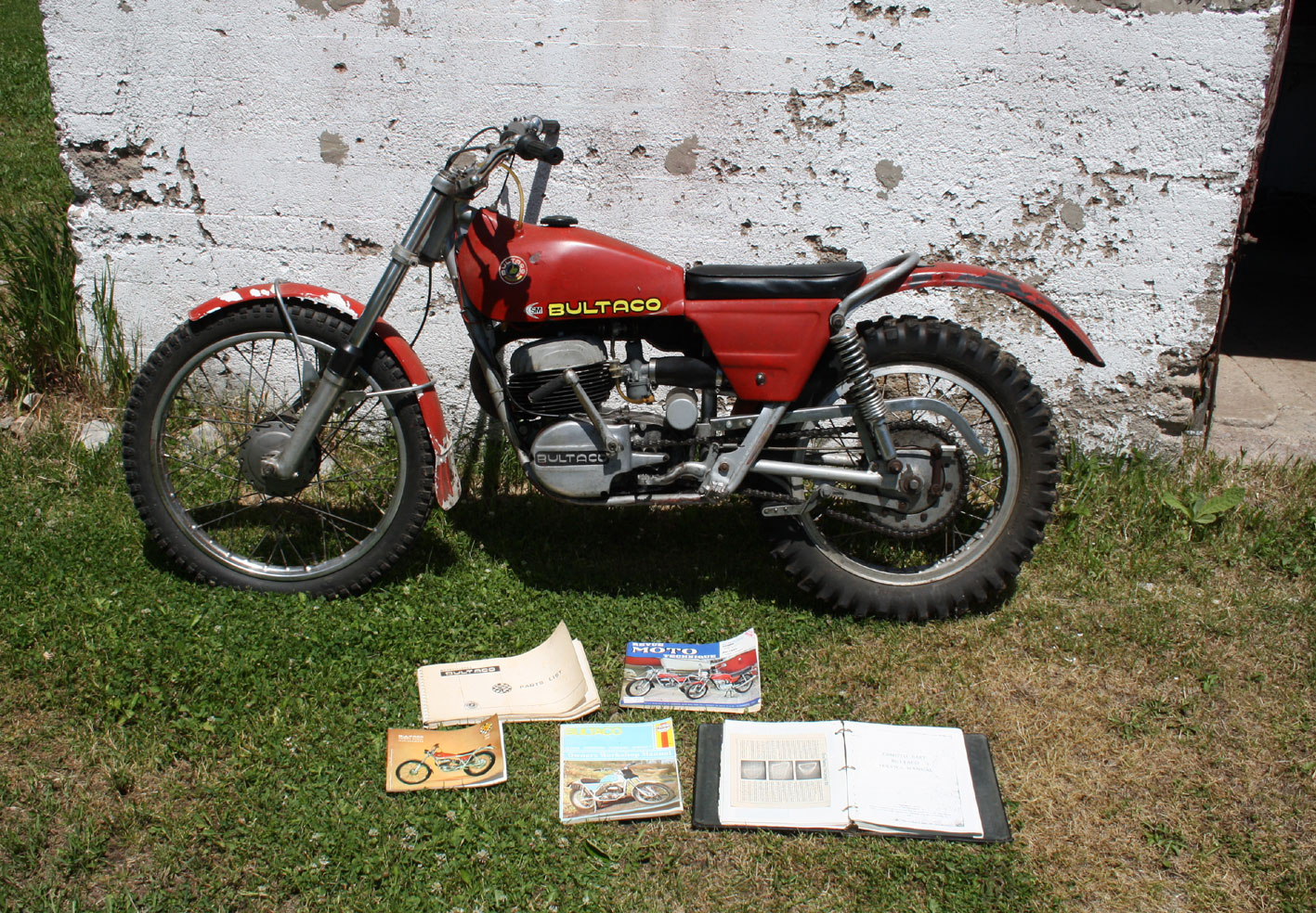 Photo of 1970 Bultaco Sherpa T