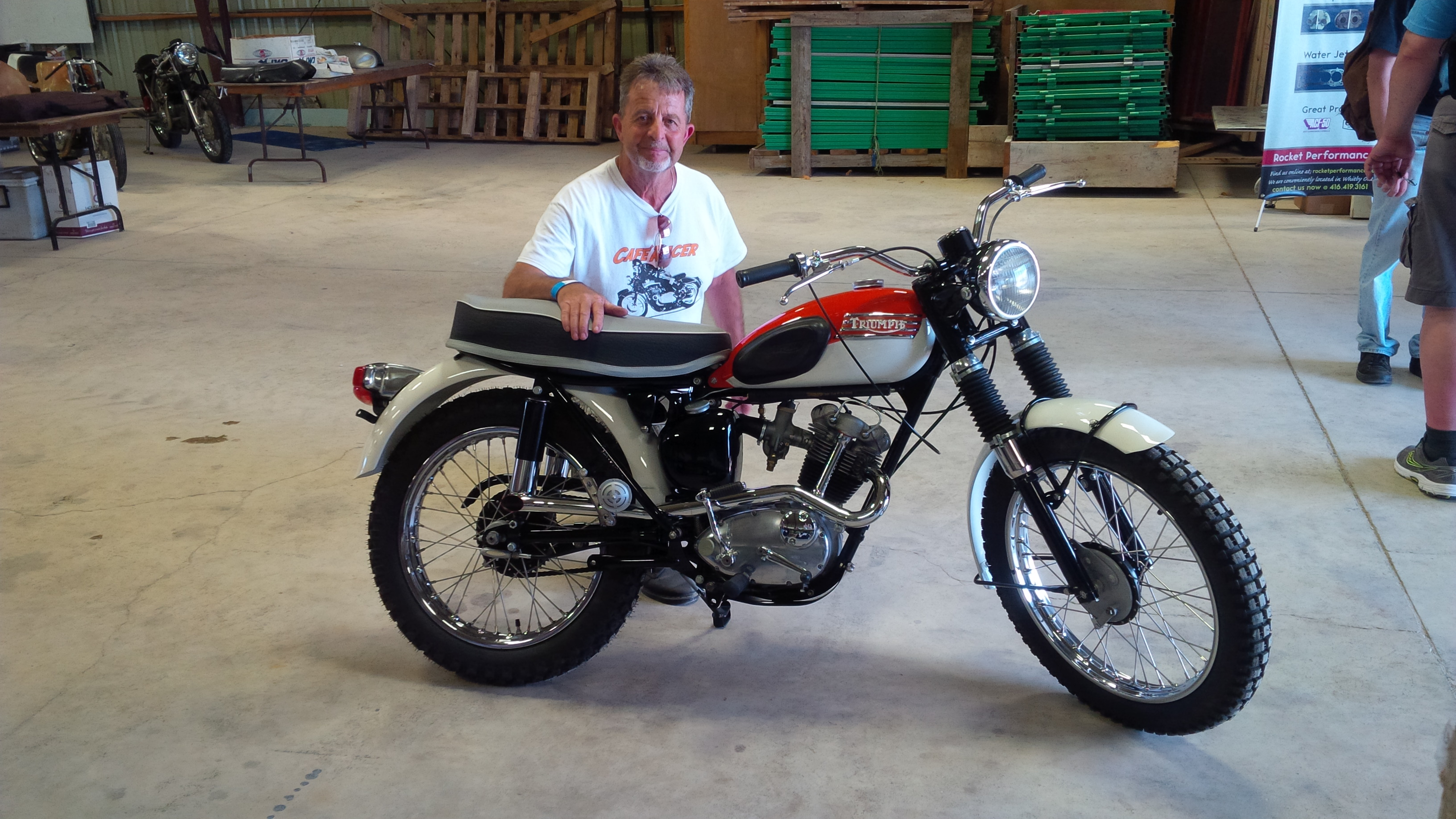 1967 Mountain Cub beautifully restored by Roy Smith