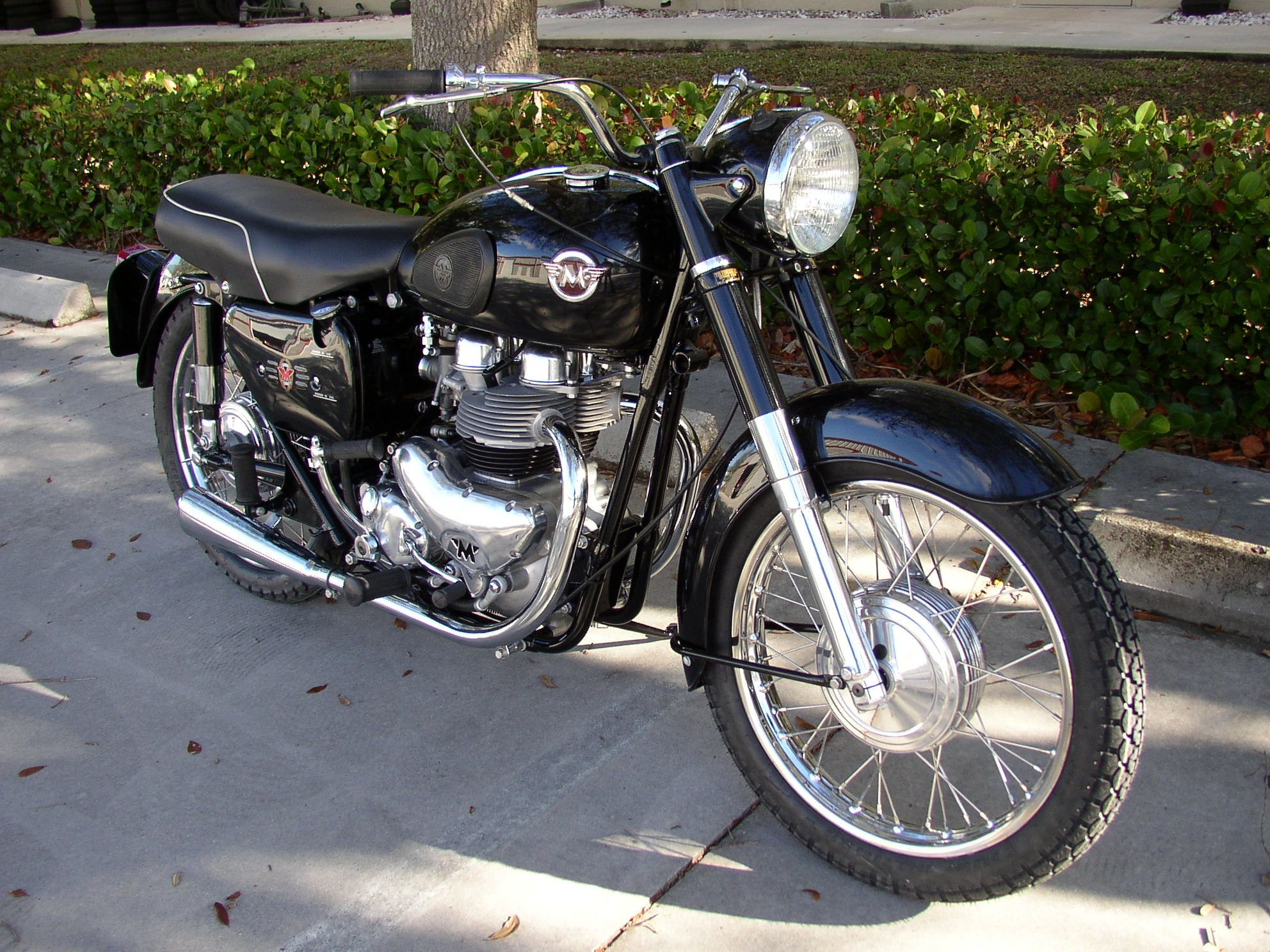 Rare 1961 G9 Matchless restored by Jim Thomas