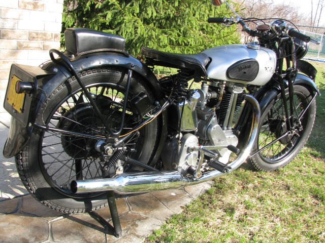 Terry Gower's 1946 500cc Nortron Model 18